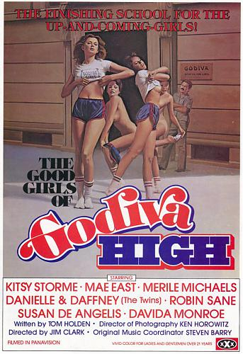 The Good Girls of Godiva High / Хорошие Девушки из колледжа Годива (Jim Clark, VCX) [1979 г., Feature, All sex, Oral, Anal, DVDRip] (1990) DVDRip