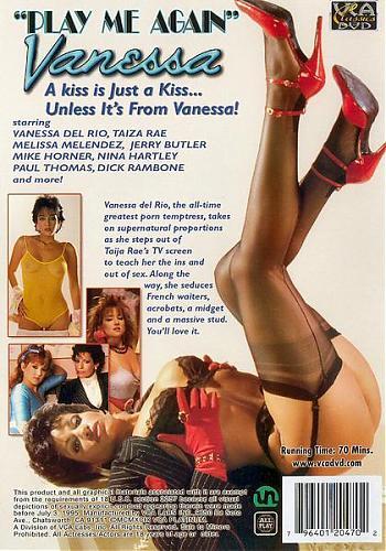 Play Me Again Vanessa / Сыграй мне снова Ванесса (Tim McDonald, VCA) [1986 г., All sex, oral, DP, lesbian, DVDRip] (1986) DVDRip