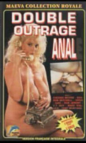 Double Outrage Anal / Двойное Анальное Насилие (Everette Smythe, Maeva) [1991 г., DAP, oral, lesbi, group, big tits, VHSRip] (2010) DVDRip