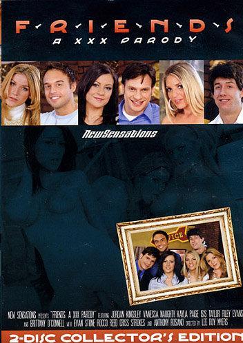 Friends A XXX Parody / Друзья XXX Пародия (2009) DVDRip