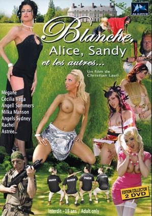 Blanche, Alice, Sandy et les autres / Блондинка, Алиса,Санди и другие персонажи (2008) DVDRip