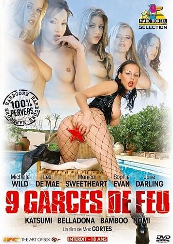 9 Garces De Feu / 9 огненных красавиц  (Marc Dorcel) (2004) DVDRip