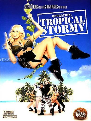 Operation: Tropical Stormy / Операция Тропический Шторм (Stormy Daniels, Wicked Pictures) [2009 г., Feature, Spoofs, Straight, Action, Comedy, Couples, DVDRip, 30.07.09] (2009) DVDRip