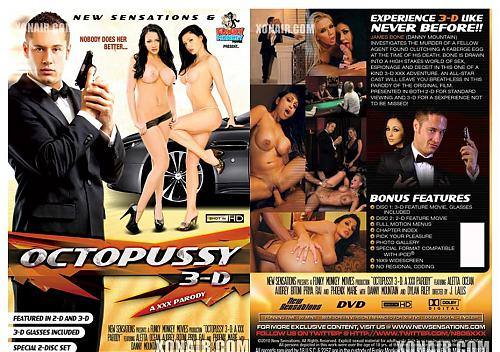 Octopussy: A XXX Parody 3-D / Осьминожка: XXX Пародия 3-D (2010) DVDRip