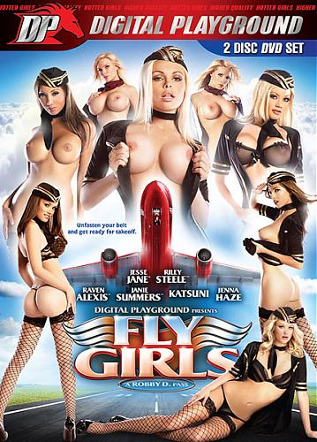Fly Girls / Стюардессы (Robby D, Digital Playground) [2009 г., Feature, Plot Based, Comedy, All Sex, BDRip]* Release Date  Feb 17, 2010 * (2010) BDRip