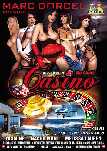 Casino - No limit (с русским переводом) / Казино без границ (Herve Bodilis / Marc Dorcel) [2008 г., Feature, Rus, 2 CD, DVDRip] (2008) DVDRip