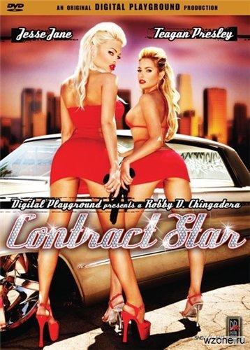 Contract Star / Звёздный контракт (С русским переводом) (Robby D, Digital Playground) [2004 г., All Sex, Anal, Oral, Lesbians, Toys, DVDRip] [rus] (2004) DVDRip