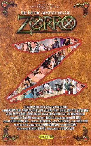 Эротические похождения Зорро /  The Erotic Adventures Of ZORRO (С ПЕРЕВОДОМ) (1996) VHSRip