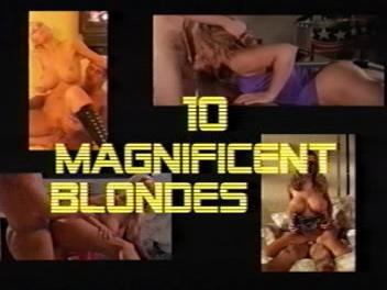 10 самых зачетных блондинок-порнозвезд / 10 Magnificent Blondes (2009) DVDRip