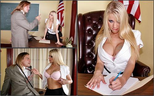 Brazzers.com - Big Tits At School - Katie Morgan - Price of a Grade (2008) DVDRip