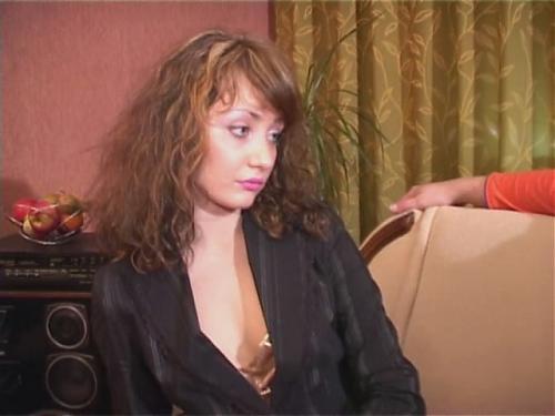 Анна Сидельникова с 2-мя мужиками (2007) DVDRip