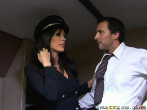 Сиськи в самолете / Shay Sights - Tits On A Plane 3 (21.02.2009) [Brazzers.com]   (2009) DVDRip