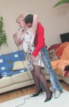 Домашнее русское порно - караоке  (2009) DVDRip