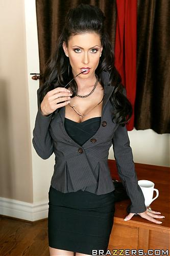 EXCLUSIVE! - Brazzers - Big Tits at Work - Jessica Jaymes - It's Good to be Boss + SET внутри! (2009) DVDRip
