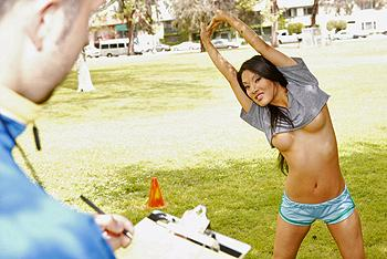 Big Tits In Sports - Asa Akira A Team Player (2009) DVDRip