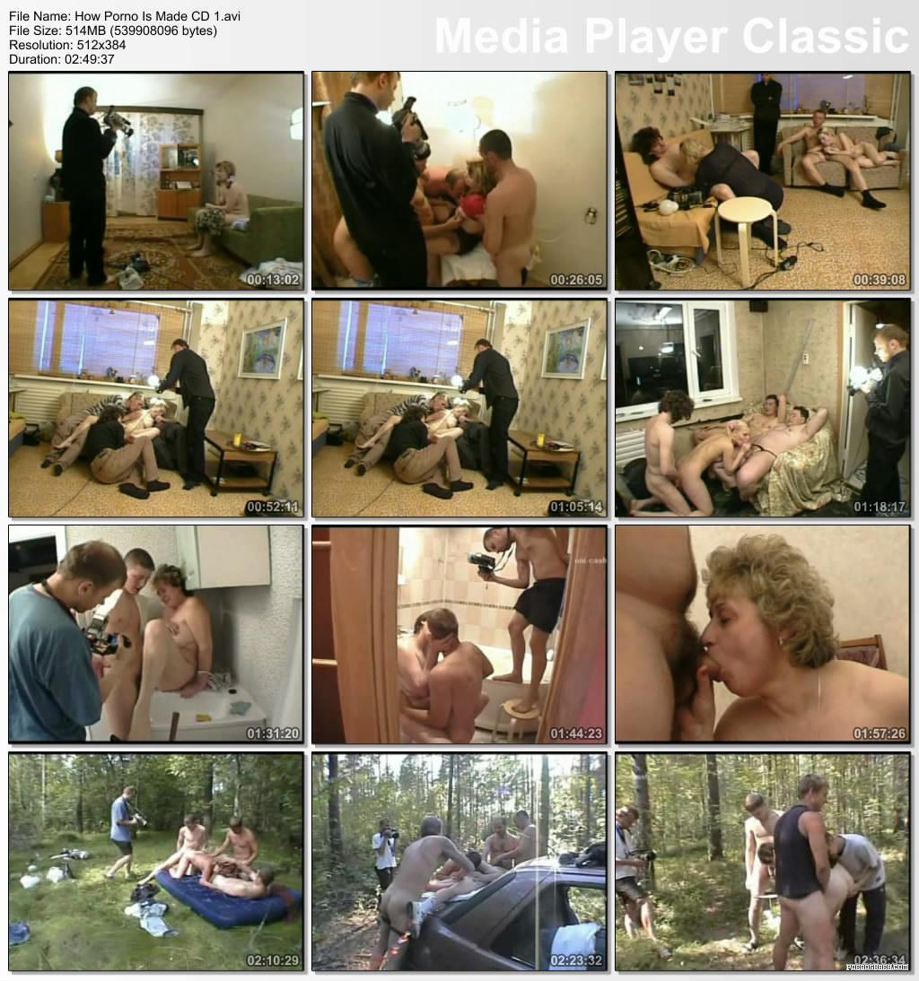 Как снимается прон (2007) CamRip