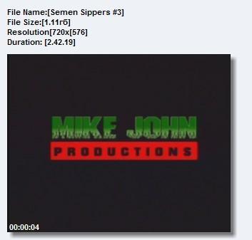Semen Sippers #3 (2003) DVDRip