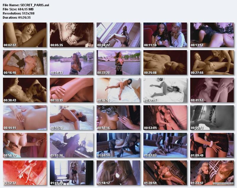 SECRET_PARIS / красивые девушки откровенная эротика с крупными планами (не порно) (2003) DVDRip