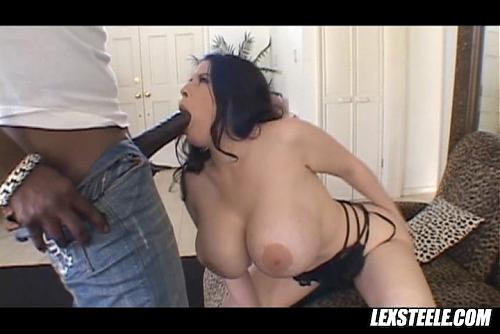 Daphne Rosen and black guy (2009) SATRip