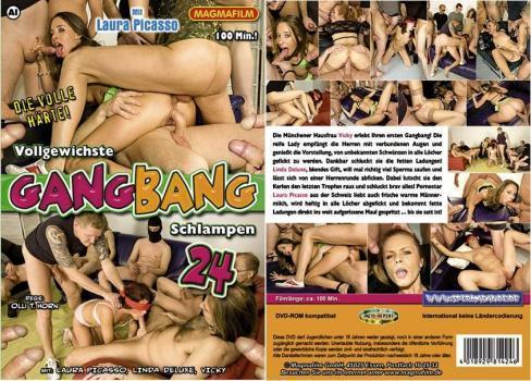 Vollgewichste Gangbang Schlampen 24 (2009) DVDRip
