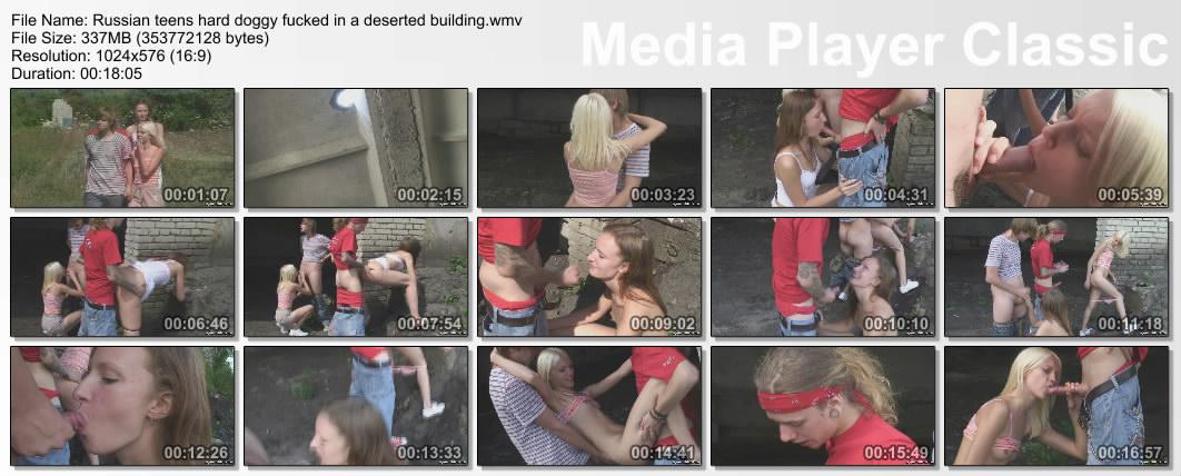 Колхозные малолетки жгут по полной. (2008) HDTV