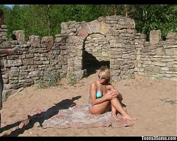 Не дали Тенечке позагорать спокойно .. (2008) CamRip