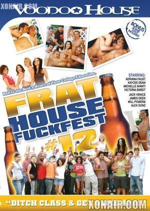 Frat House Fuckfest 12 (2009) DVDRip