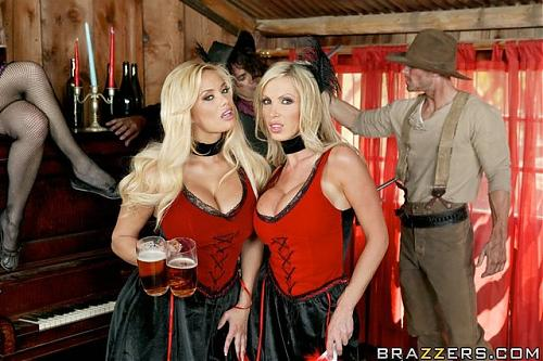 Nikki Benz and Shyla Stylez (The Good, The Bad and The Slutty) (2009) SATRip