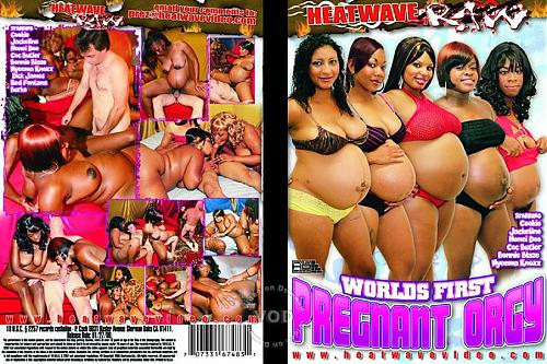 Worlds First Pregnant Orgy / Первая в мире оргия беременных (Playboy T, Heatwave Raw) [2009 г., Pregnant, All Sex, Group sex, Black, Oral, DVDRip] (2009) DVDRip