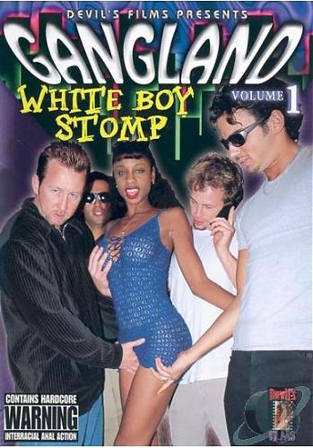 Gangland White Boy Stomp #1 / Толпа белых парней и одна черная девушка #1(Devil's Films) [2002 г., Gang Bangers, Double Penetration, Anal, All Sex, DVDRip][Split Scenes] (2002) DVDRip