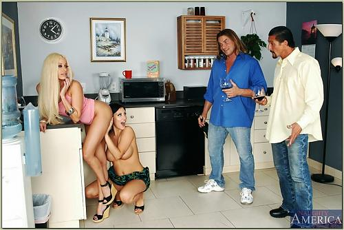 NaughtyAmerica.com - Mindy Main and Gina Lynn (2009) SATRip
