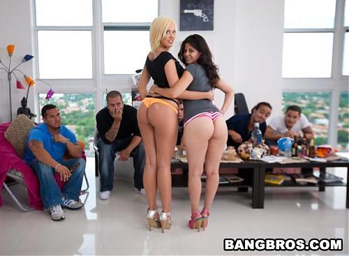 BangBros.com -  Evie Delatosso, Jenny Hendrix (2009) SATRip