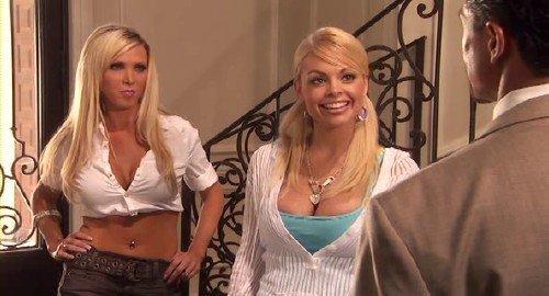 Супер блодинка Джеси Джейн в роле няни (Babysitters Jesse Jane and Nikki Benz) (2008) SATRip