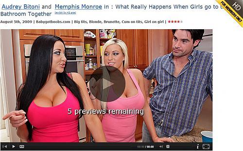 Audrey Bitoni and Memphis Monroe (2009) SATRip