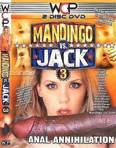 Layla Jade (сцена из Mandingo Vs. Jack # 3) / Два члено-монстра vs блондинка [2009 г., All sex, Anal, Interracial, Big Dick, FFM] (2009) DVDRip