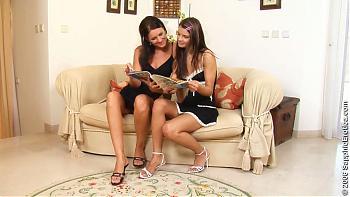 Charly & Klara @ SapphicErotica.com (2006) HDTVrip