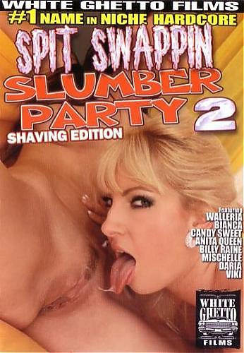 Spit Swappin Slumber Party #2 - Shaving Edition / Глотание Слюны на Вечернем Девичнике #2 - Бритый Выпуск (White Ghetto Films) (2009) DVDRip