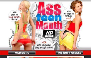 ПАК видео роликов с сайта [Ass Teen Mouth] / из Жопы Тинейджерки в Рот (2008) SATRip