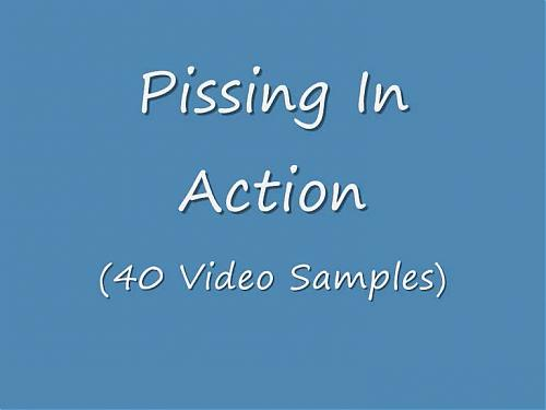Pissing Compilation (2009) DVDRip