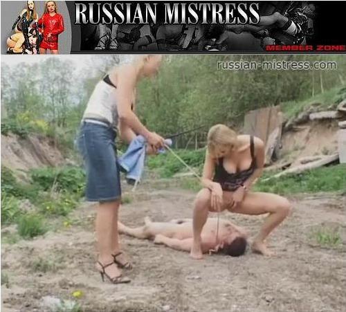 [Russian-mistress.com] Русские девушки писают на парней (20 роликов) (2009) SATRip