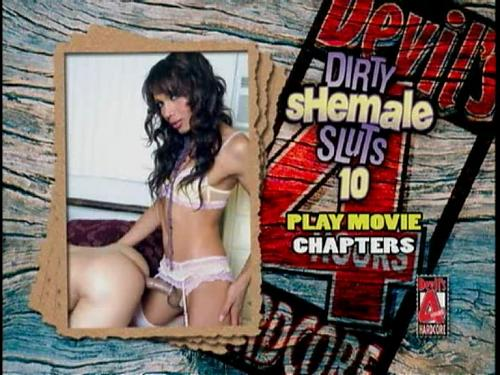 Dirty Shemale Sluts 10 (2008) DVDRip