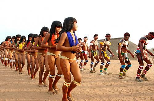Дикое амазонское племя (2000) DVDRip