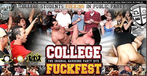 CollegeFuckFest 26,27,28,29/ Студенческие пьяные вечеринки Выпуск 26,27,28,29 (2009) DVDRip