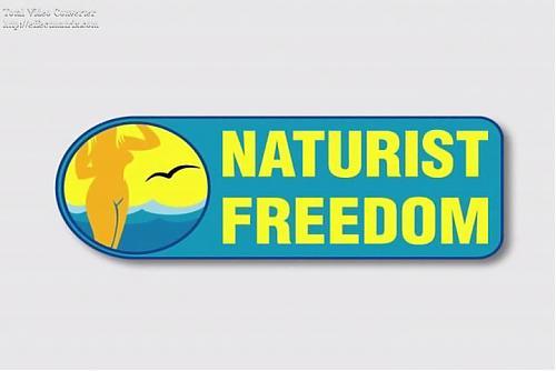 NaturistFreedom.Inflatable Slide / Нудисты.Катание на горке (2010) DVDRip