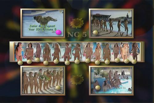 Contest-5 / Конкурс девочек нудисток. (2000) DVD