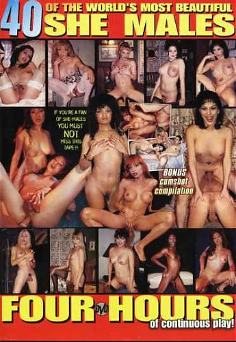 40 she-male Beautiful СD 2 (1990) DVDRip