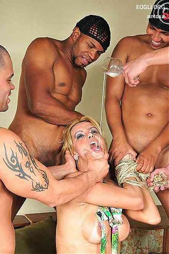 Tranny CUM Fun  Adryella Vendramini (2009) HDTV