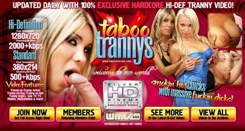 [TabooTrannys.com] (Shemale & Girl) Kiara and Loreley (Jan 09) (2009) HDTV
