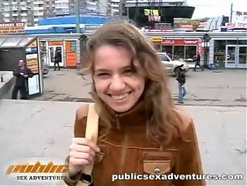 Публичный секс за деньги. (2008) CamRip