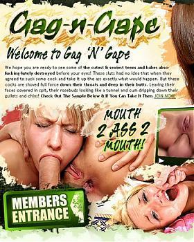 Sophia And Dorina [Gag-n-Gape.com] (2007) DVDRip